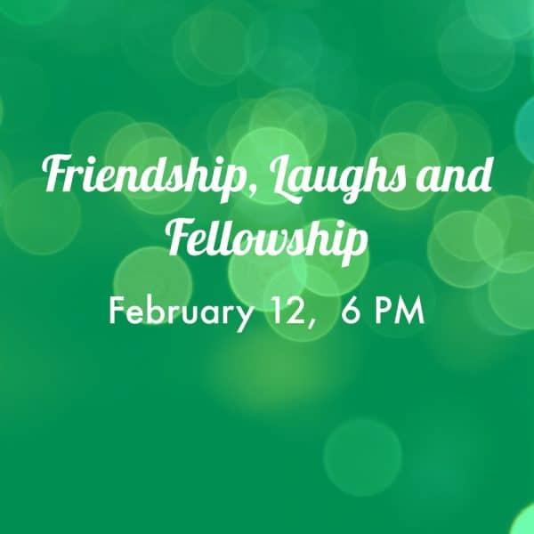 friendship laughs fellowship