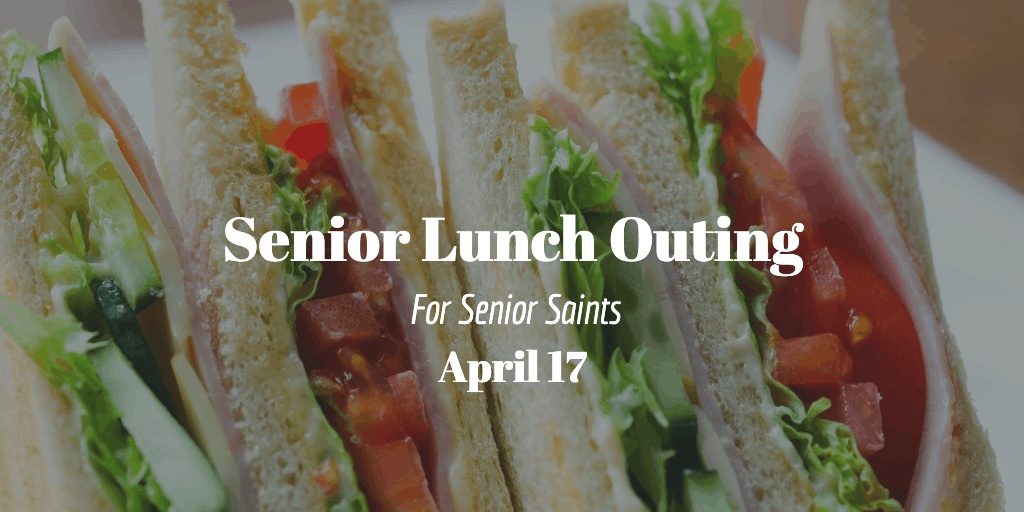 Senior Lunch Outing