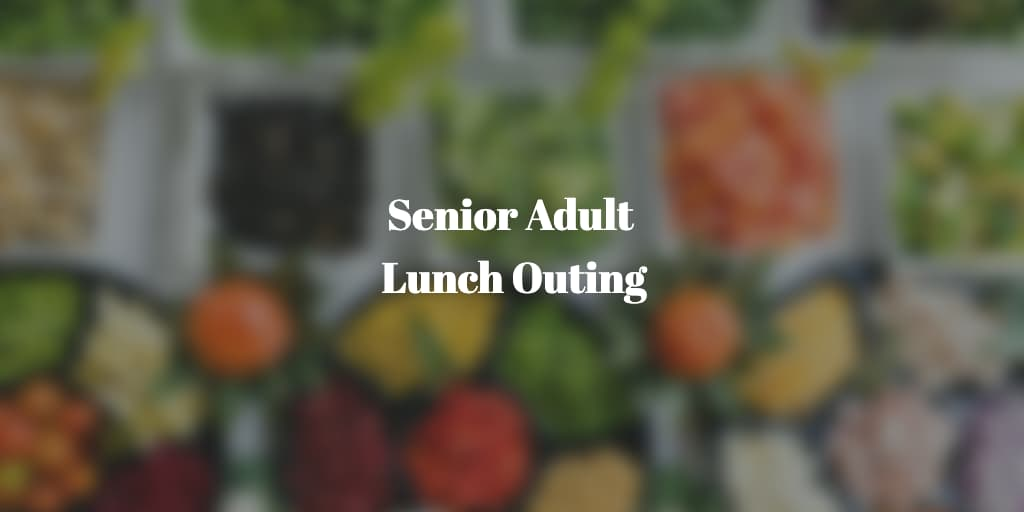senior adult lunch outing